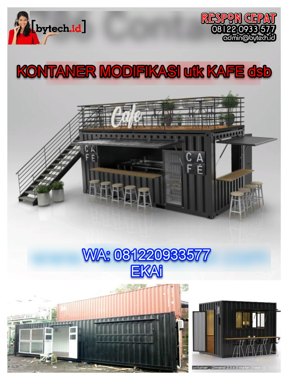 kontainer office - kontainer modifikasi